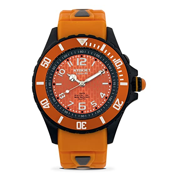 KYBOE! Black Tiger - Reloj de cuarzo para mujer, 40 mm, acero inoxidable