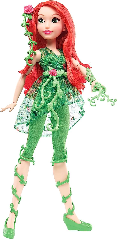 DC Super Hero Girls - Muñeca Poison Ivy (Mattel DLT67)