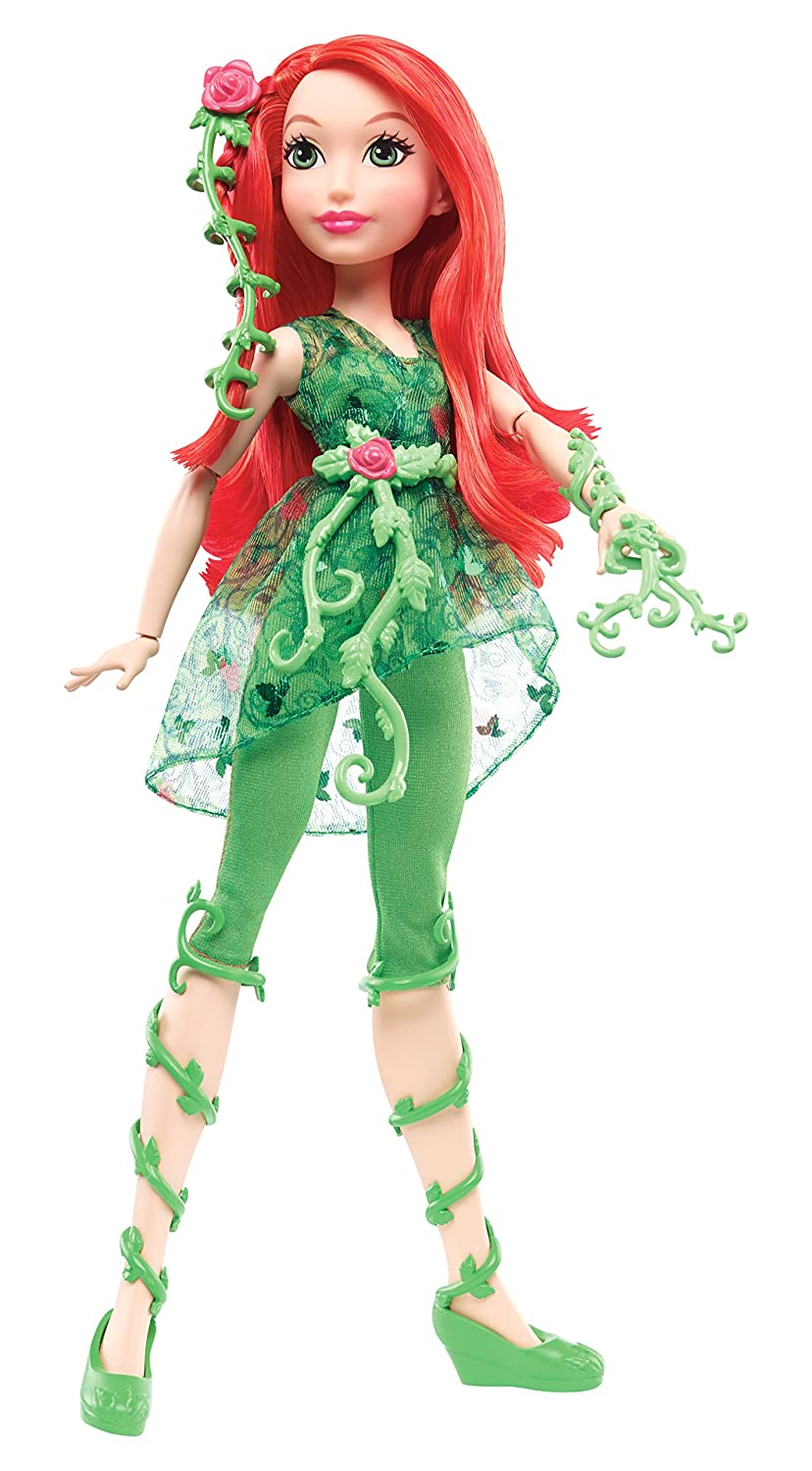 Mattel DC Comics DLT67 Super Hero Girls Poison Ivy 12 inch Action Doll