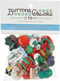 Buttons Galore and More Collection Round Novelty Buttons & Embellishments Based on Variety of Themes, Holidays and…
