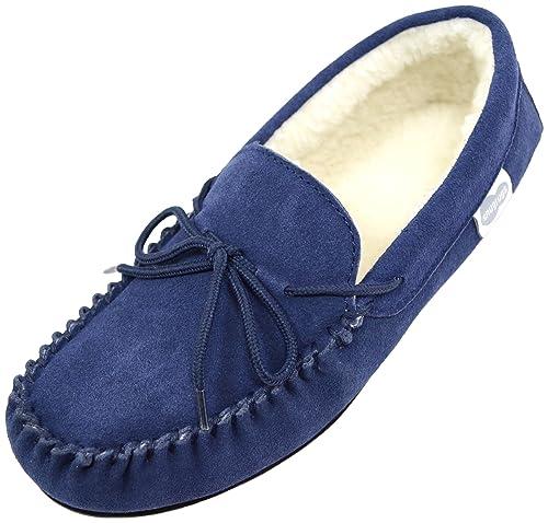 Zapatos grises Snugrugs para hombre JzY5y