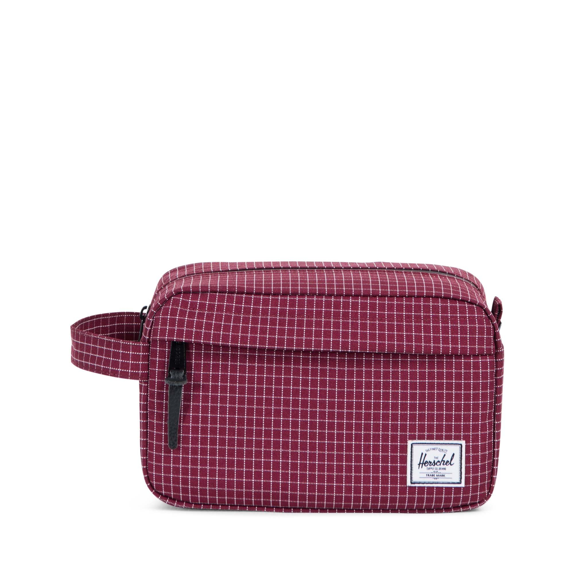 Herschel Supply Co. Chapter Travel Kit, Windsor Wine Grid