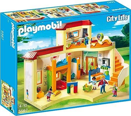 PLAYMOBIL City Life Guardería, A partir de 4 años (5567): Amazon.es: Juguetes y juegos