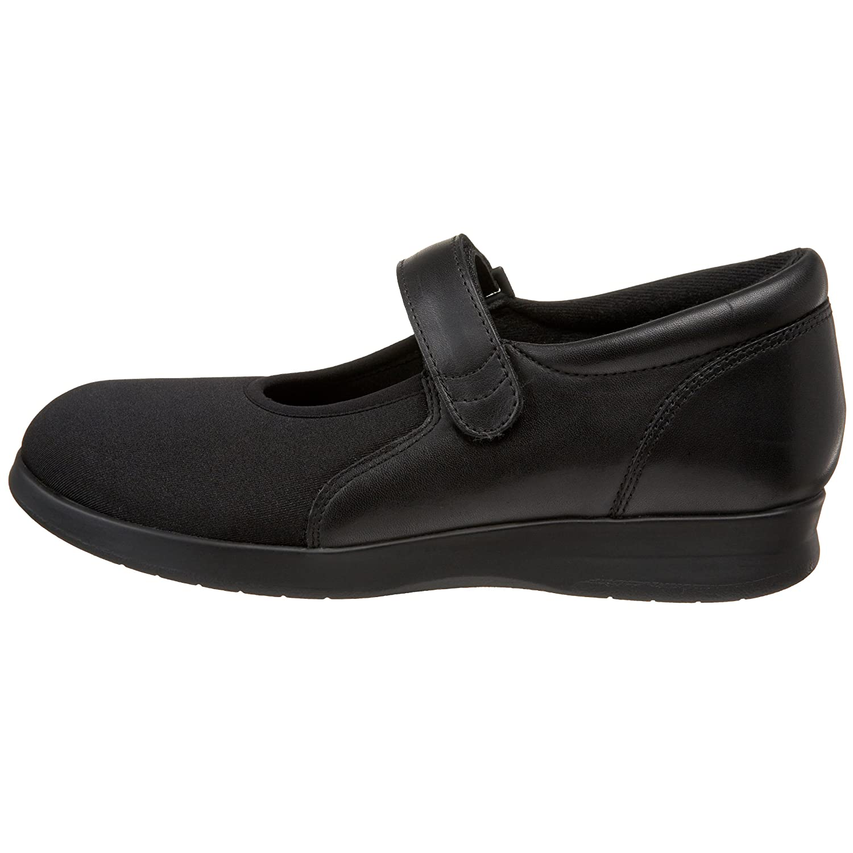 Drew Shoe Women's Bloom II B003A4H49I 12 N US|Black Leather/Stretch