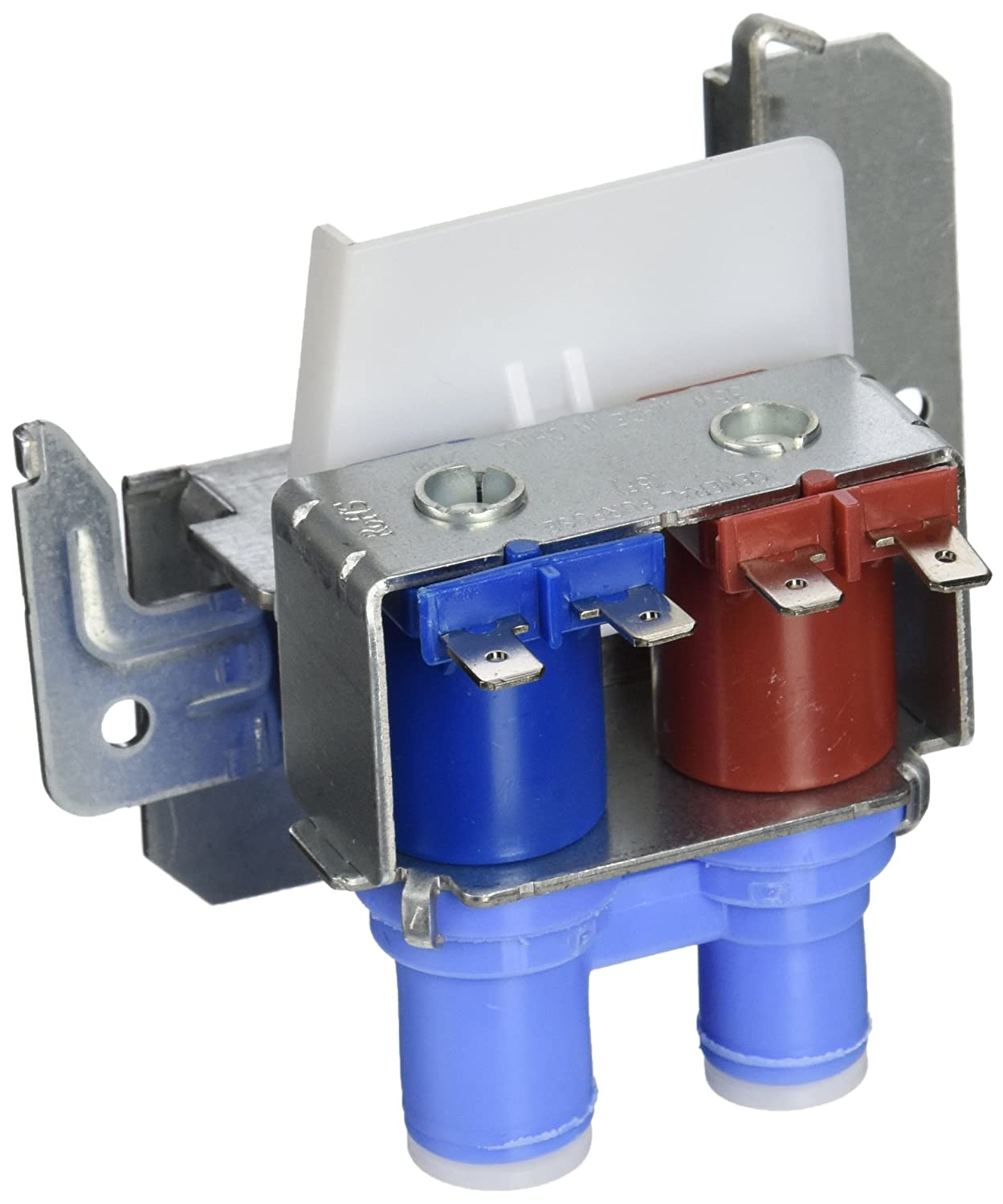 Enrilior DC 12V DN20 G3//4 1 in 4 Out Plastic Electromagnetic Valve Normally Closed Water Drain Valve
