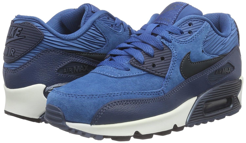Modisch Damen Schuhe Nike Air Max 90 SE W Schuhe weinrot