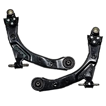 Front Lower Control Arms w/Ball Joints Pair Set for 2005-2010 Chevy Cobalt  HHR 2007-2009 Pontiac G5 2006-2007 Saturn Ion FE1 Suspension