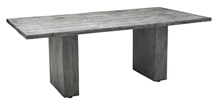 Peterborough Beach Dining Table Grey: Amazon co uk: Kitchen & Home
