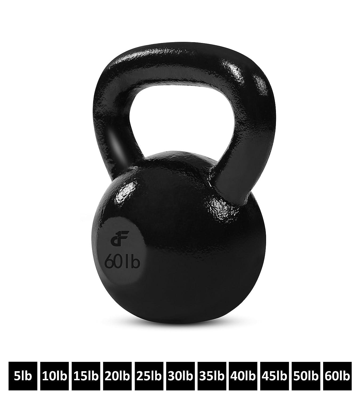 DAY 1 Fitness Kettlebell Eisen 60 Lb 60-lb
