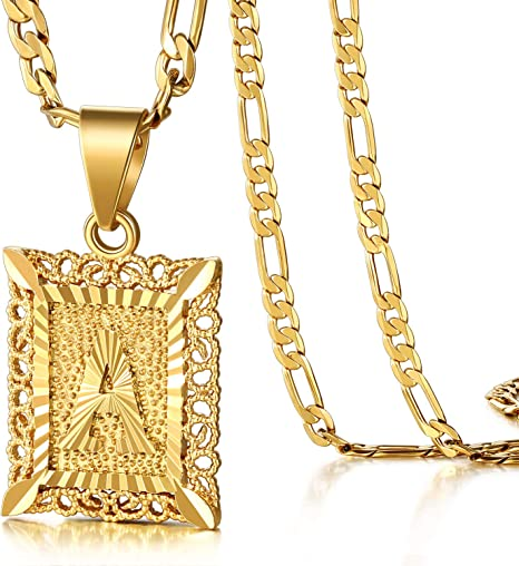 Initial Necklace18K Gold PlatedName NecklaceInitial Monogram NecklaceInitial PendantCustom MadeSpecial InitialChristmasHoliday Gifts