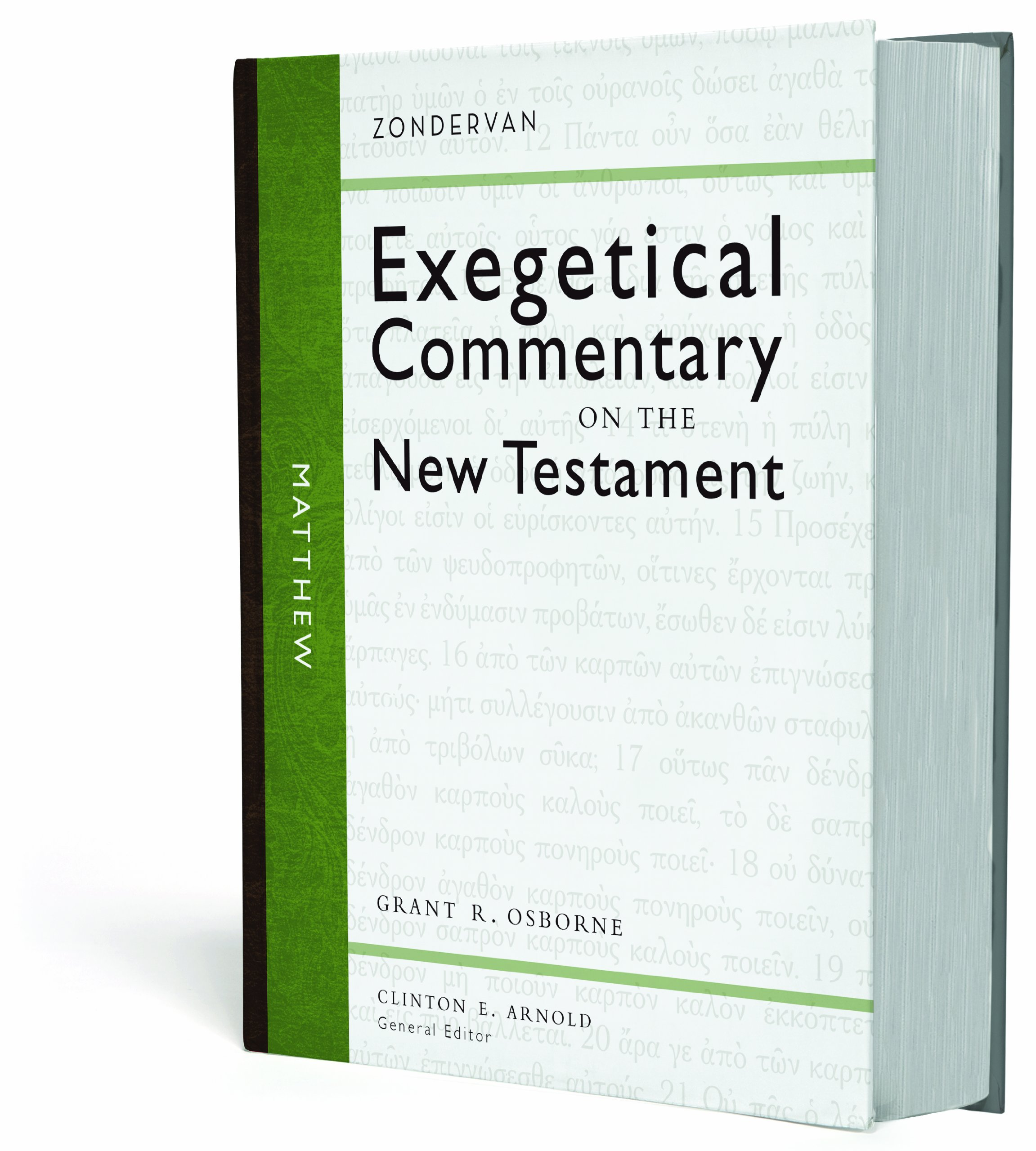 e8213b0756bd Matthew (Zondervan Exegetical Commentary on the New Testament)  Grant R.  Osborne