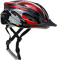 Capacete para Ciclismo MTB Inmound 2.0, Viseira Removível 19 Entradas de Ventilação, Atrio Adultos
