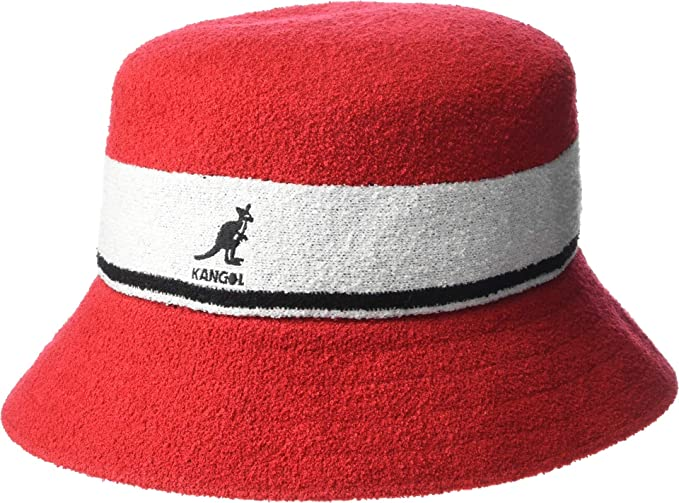 8d884b4dfd70e Image Unavailable. Image not available for. Colour  Kangol Bermuda Stripe  Bucket Hat ...