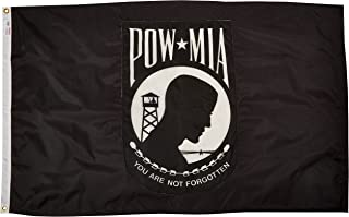 product image for Valley Forge Flag 3-Foot by 5-Foot Nylon P.O.W./M.I.A. Double Seal Flag