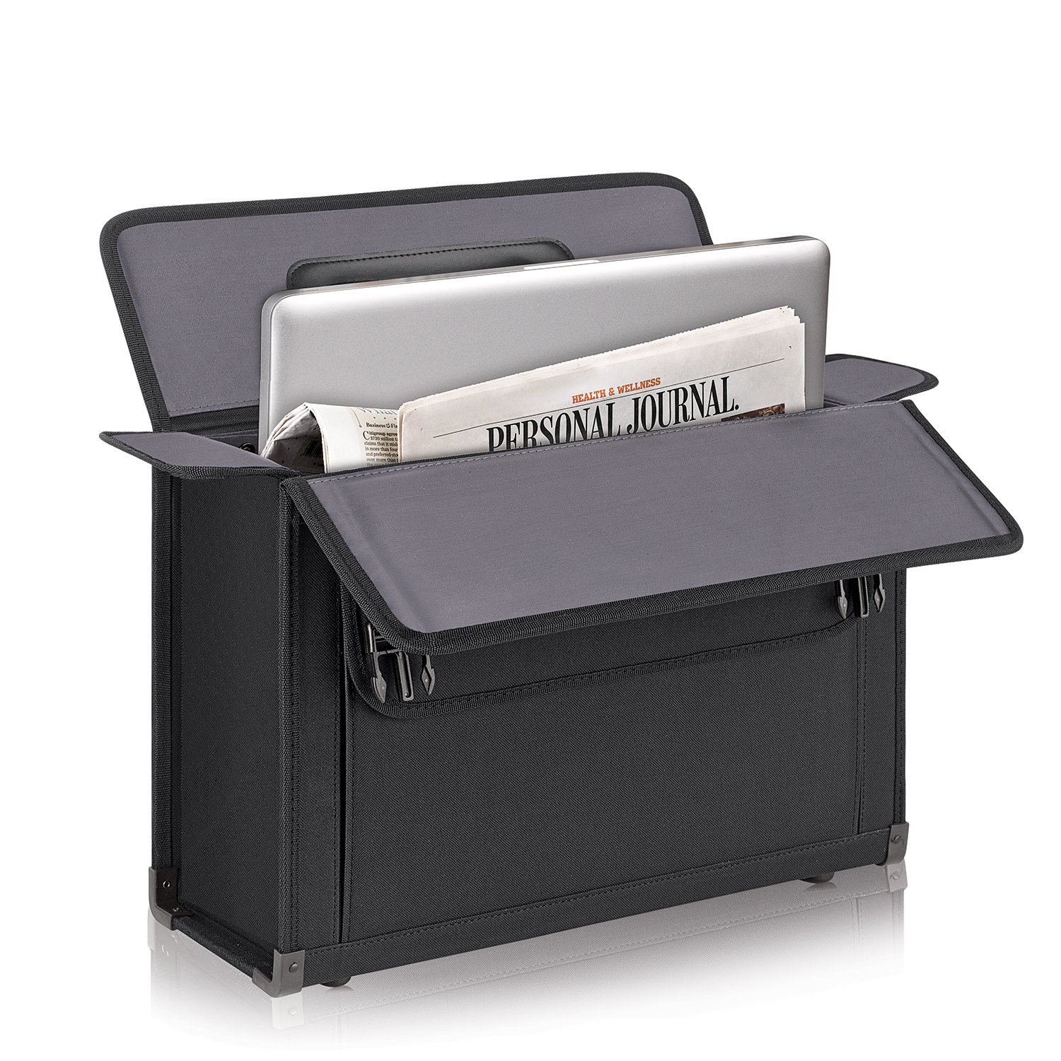 Solo Classic 16 Inch Laptop Catalog Case, Black by SOLO (Image #4)