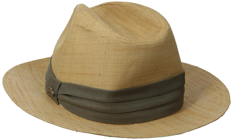 d639c178bc624 Tommy Bahama Men s Safari Raffia Hat at Amazon Men s Clothing store  Panama  Hats