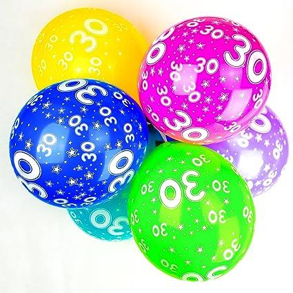 Happium 10x Globos Perlados de Látex para 30cm Cumpleaños ...