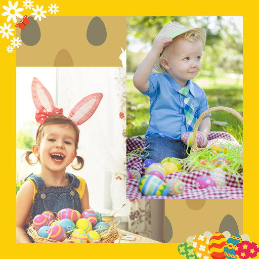 Easter Photo Collage -