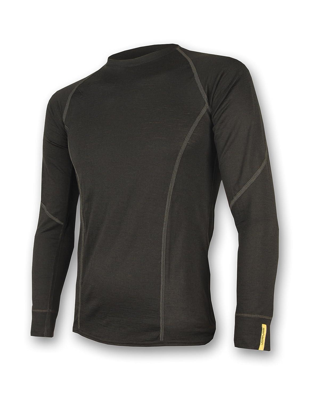 Sensor Merino Wool Herren T-shirt LS