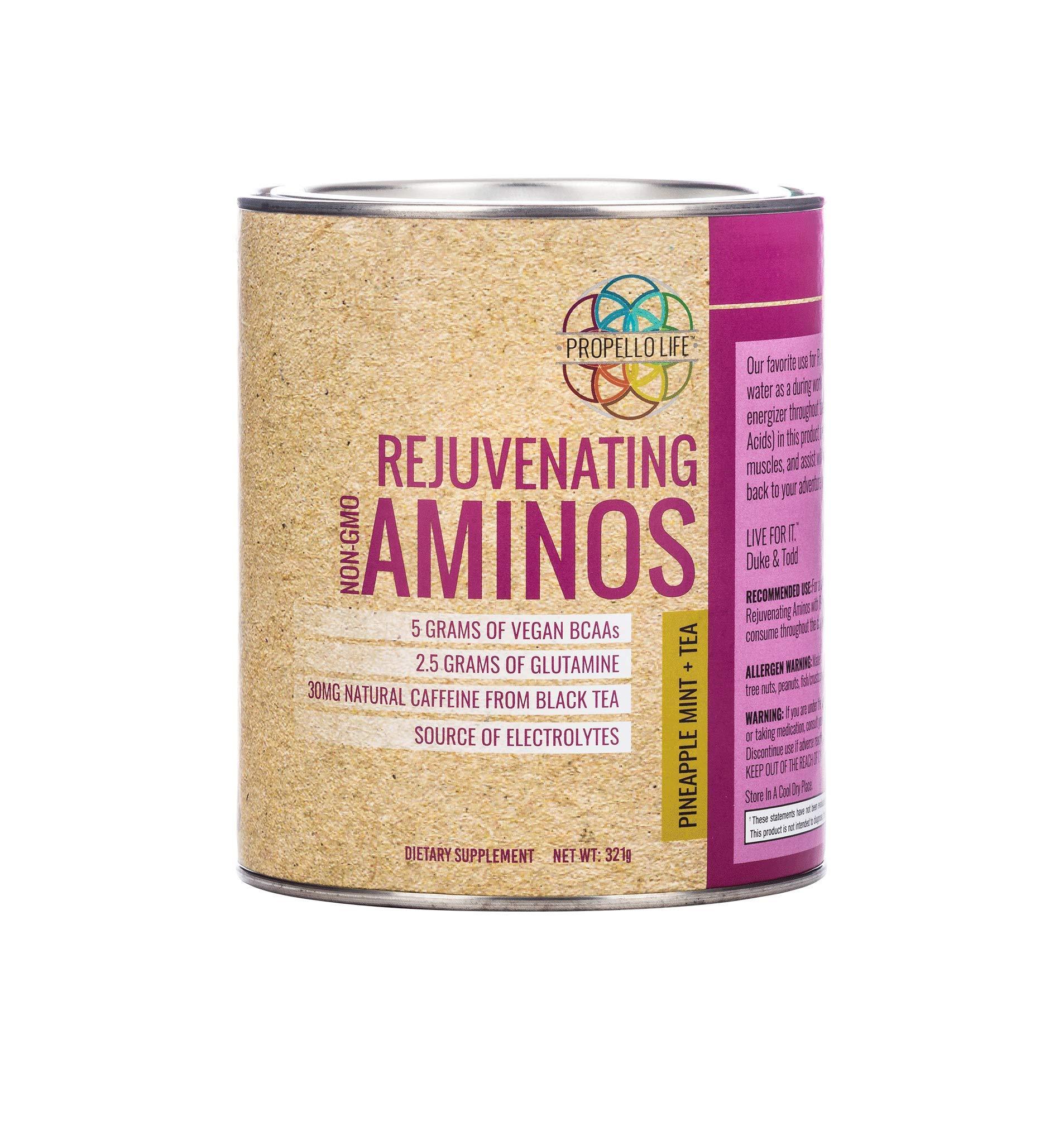 Propello Life Rejuvenating Aminos, Pineapple Mint + Tea, 321 Gram