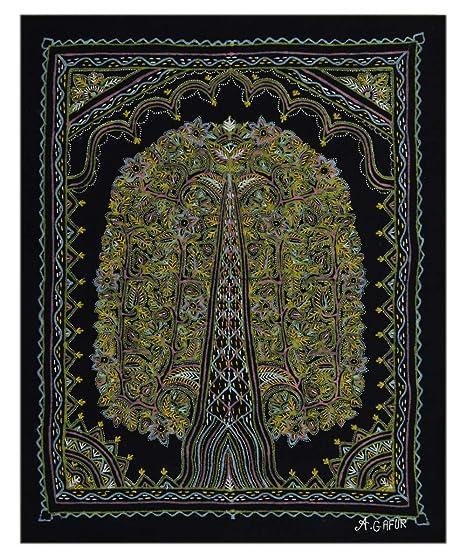 Amazon Com Royal Handicrafts Rogan Painting Tree Of Life Clothing