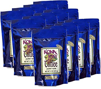 Kona Joe Gourmet Blend Dark Roast Kona Coffee