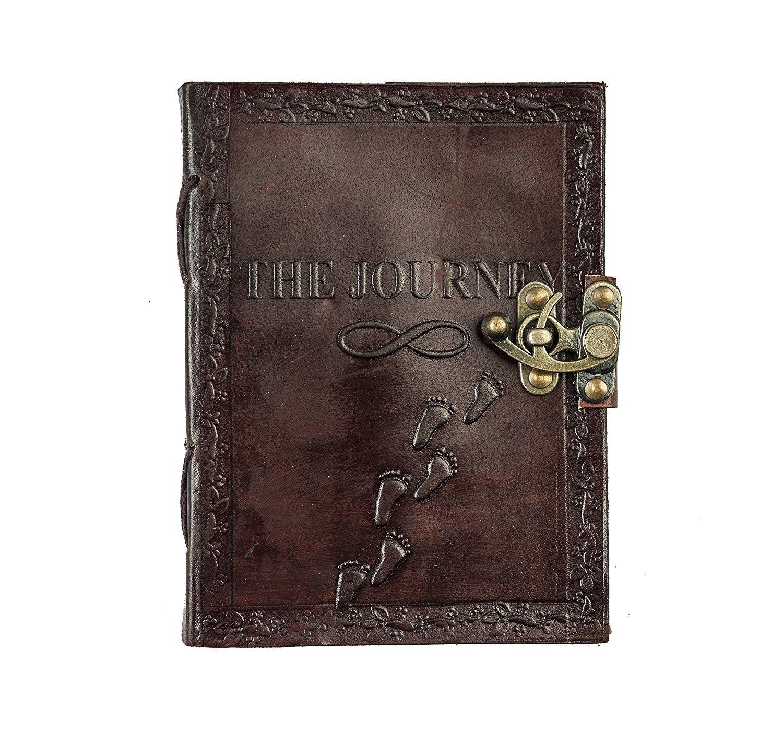 Journal Diary Retro Vintage Classic Leather Bound Notebook 5*7 Prastara