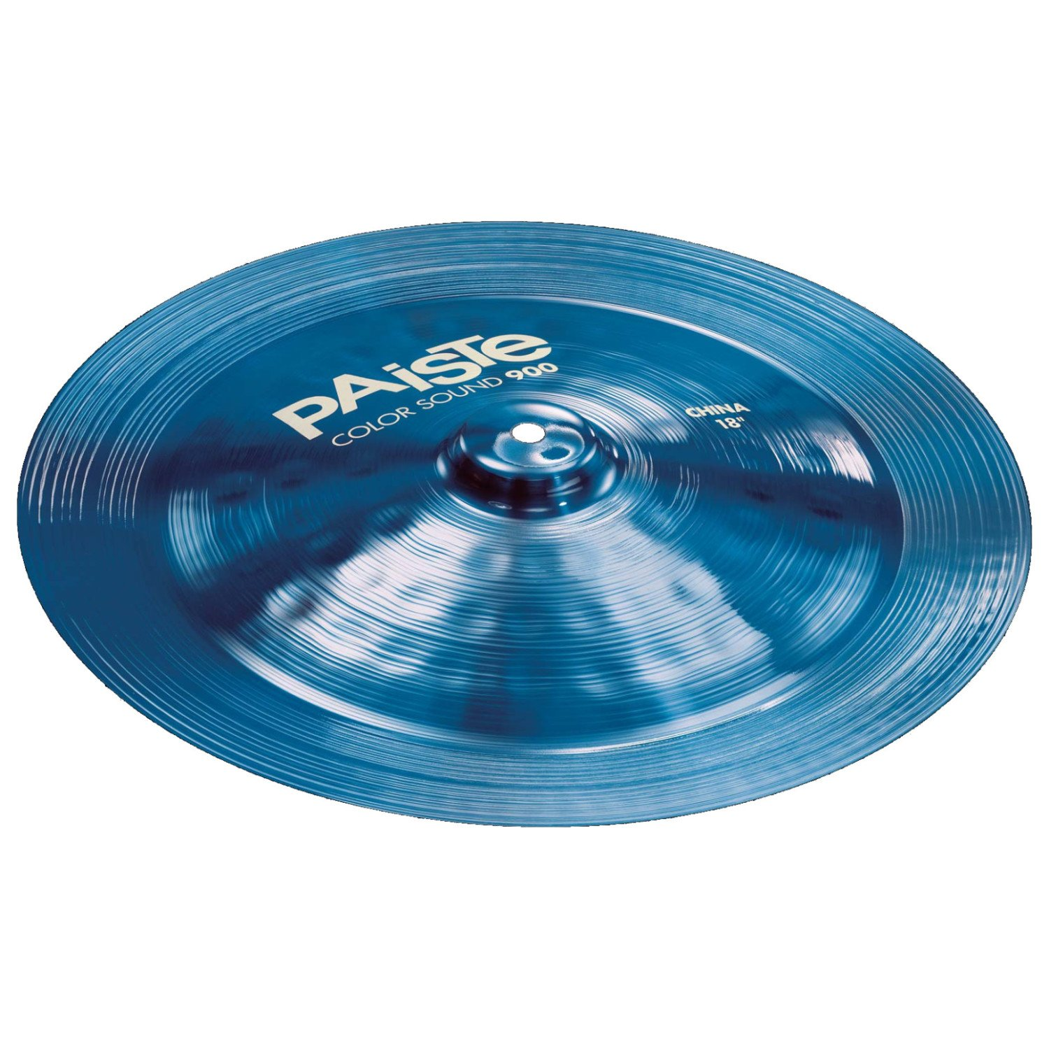 Paiste 900 Color Sound 18 Inch BLUE China Cymbal by Paiste
