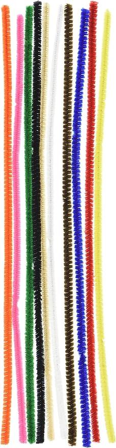 Darice 1084-11 100 Piece Multicolor Big Value Chenille Stems