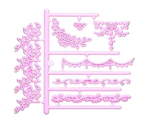 Sweetly Does It Guirnalda 3D para Repujado moldes