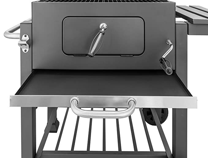 Tepro Holzkohlegrill Obi : Activa grill grillwagen angular holzkohlegrill cm