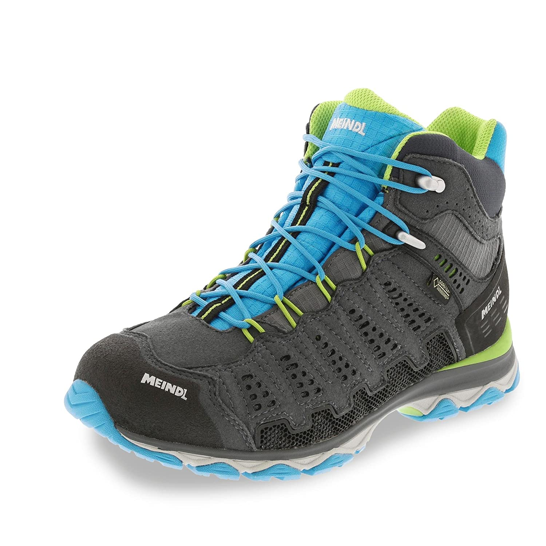 Meindl Chaussures pour Femme Chaussures d'extérieur x-So 70 Lady GTX Mid Turquoise gris Anthracite