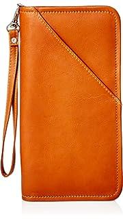 58e132753908 Amazon.com | Piel Leather Vintage Executive Travel Wallet, Brown ...