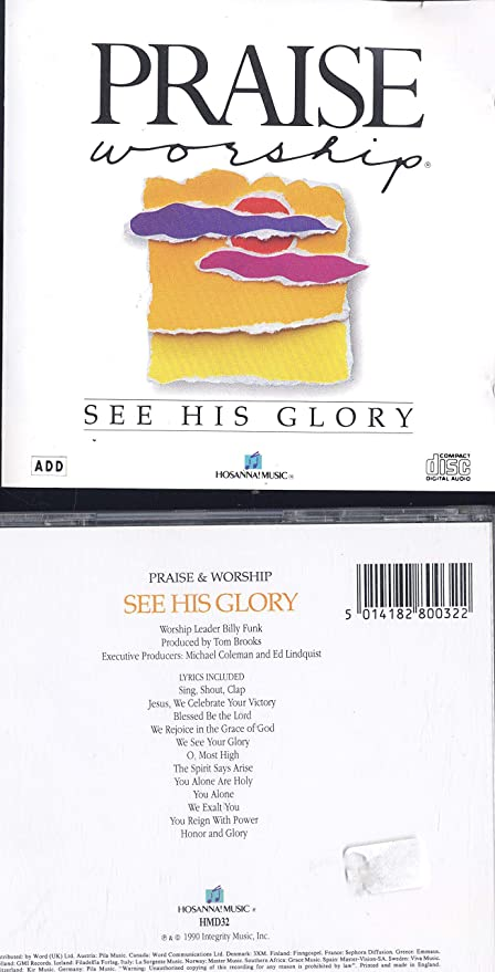 Buy See His Glory Online At Low Prices In India Amazon Music Store
