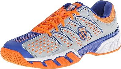 K-Swiss Zapatillas Bigshot II Gris/Morado/Naranja EU 42 (UK 8): Amazon.es: Zapatos y complementos