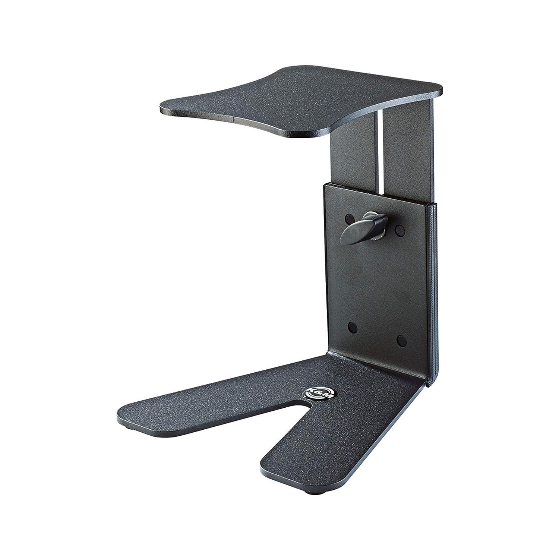 K /& M Stands K /& M Monitor de mesa peque/ño negro m/úsica 26772.000.56