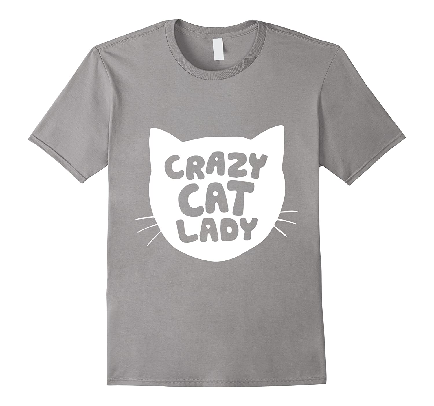'Crazy Cat Lady' Short Sleeve Cotton Comfort Funny Tees-Art