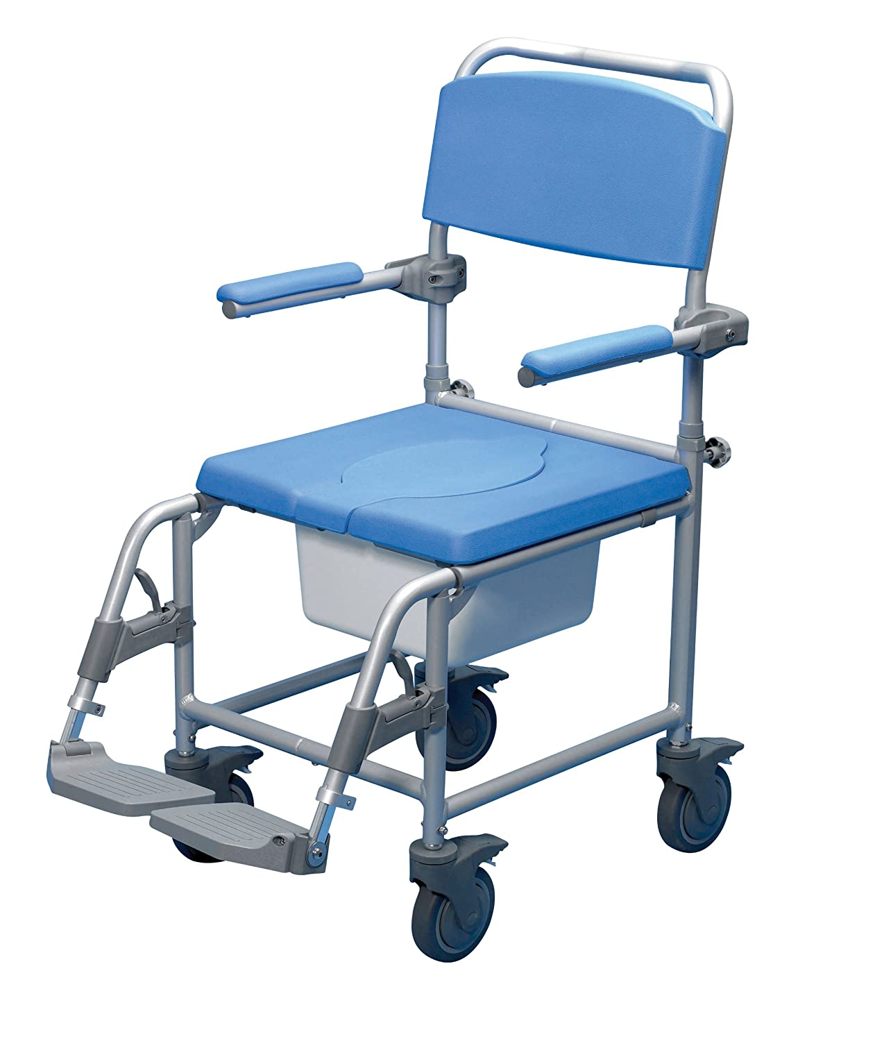 Performance Health Deluxe Wheeled Shower Commode Chair (Eligible for ...