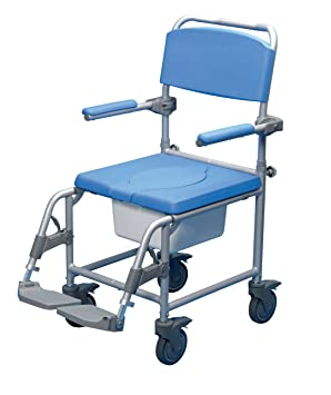 Performance Health Deluxe Wheeled Shower Commode Chair (Eligible for VAT relief in the UK)  sc 1 st  Amazon UK & Performance Health Deluxe Wheeled Shower Commode Chair (Eligible for ...