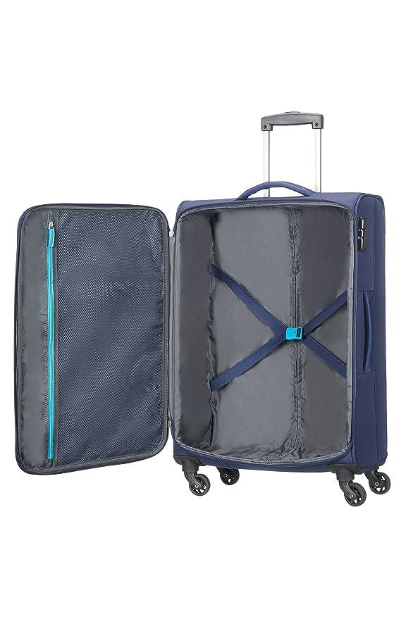 Amazon.com | American Tourister Funshine 4 Roues 66/24 Valise, 66 cm, 63, 5 L, Orion Blue | Suitcases