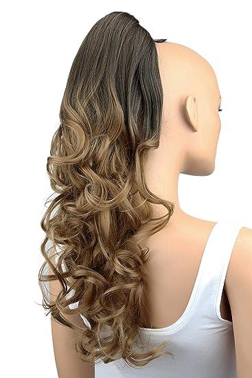 prttyshop hair piece pony tail extension draw string voluminous