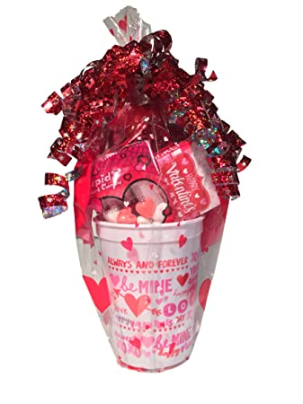 Sweethearts Candy Valentines Day Gift Baskets Balloons Chocolate ...