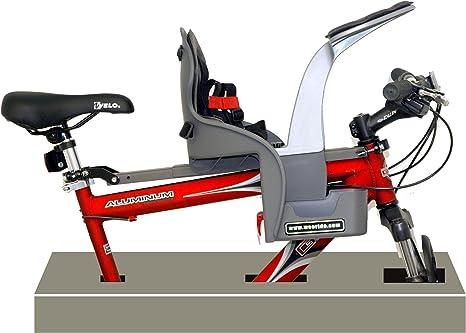 Wee-Ride 98077 Kangaroo - Asiento Infantil para Bicicleta: Amazon ...