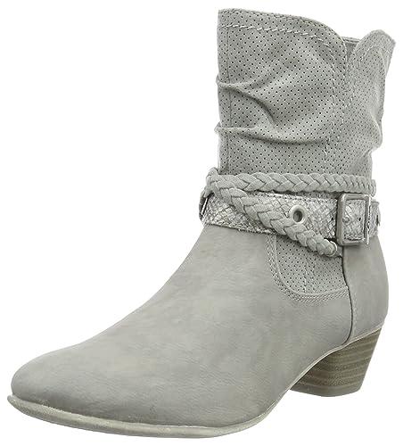 S oliver Damenschuhe Stiefeletten Boots Stiefel 25314 38 216 Grau