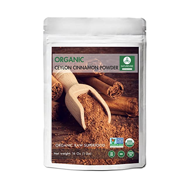 Organic Ceylon Cinnamon Powder (1lb) by Nature...
