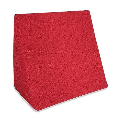 La Almohada Tipo Cuña increíble - Para Su Sala De Estar o Su Recamara, Almohada Para Leer Con Un Sentado Relajado. Disponible en 5 Colores Con Un ...