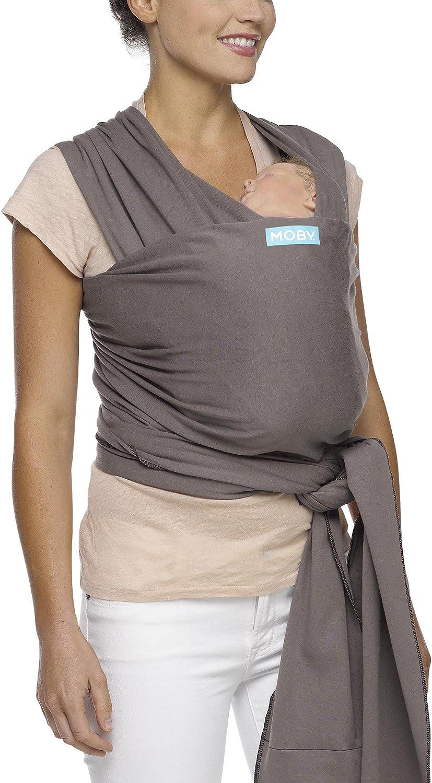 Moby Wrap Classic color gray Fular portabeb/és el/ástico