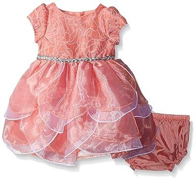 e5e1edaf955 Amazon.com  Nannette Baby Girls  Petal Dress  Clothing