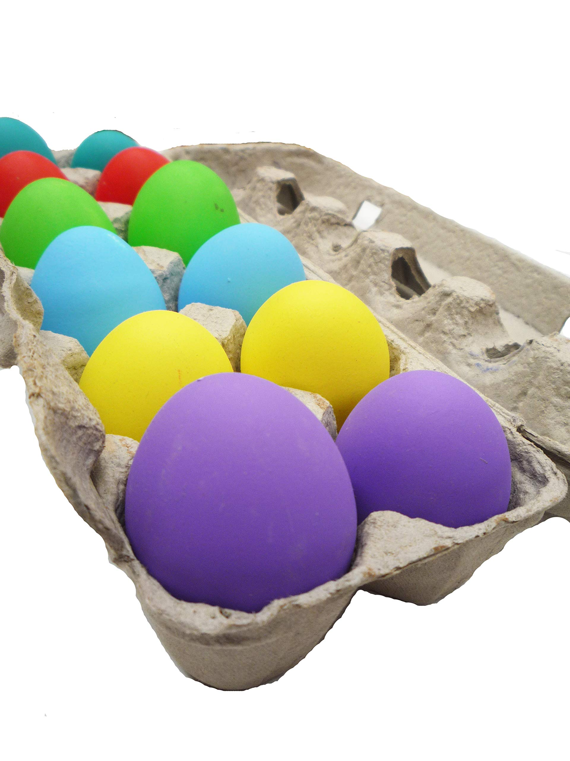 Confetti Eggs Cascarones, Multicolored, 240 Count, Party Game for Easter, San Antonio Fiesta Week, Cinco de Mayo or Birthday Party by Pinatas (Image #2)