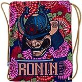 Gi Bag- Ronin Samurai Emperor Head Bag - Fits All BJJ, Karate, Judo, TKD, Kempo GIS - Bag for Men, Women, Kids…